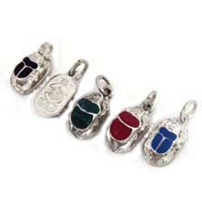 Egyptian jewelry scarab jewelry scarab pendant with inlaid stone egyptian jewelry scarab jewelry scarab pendant in 900 silver with inlaid stone aloadofball Choice Image